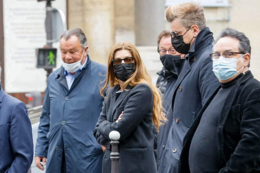 Chiara Mastroianni et Benjamin Biolay aux funérailles de Jean-Yves Bouvier à Paris ce mercredi 19 mai