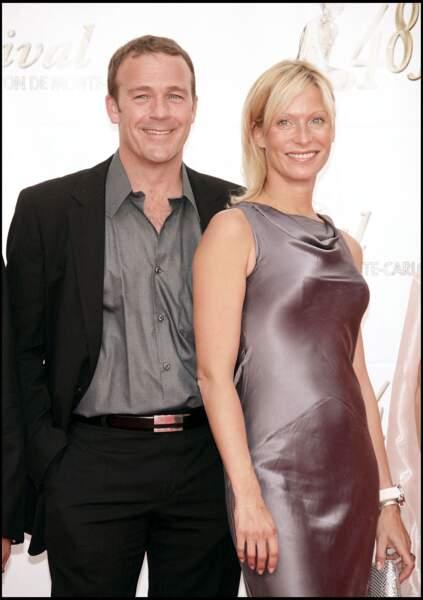 Serge Dupire et Rebecca Hampton au Festival de la tél à Monaco, le 8 juin 2008
