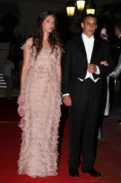 La robe longue de sirène de Tatiana Santo Domingo au mariage du prince Albert et Charlene de Monaco