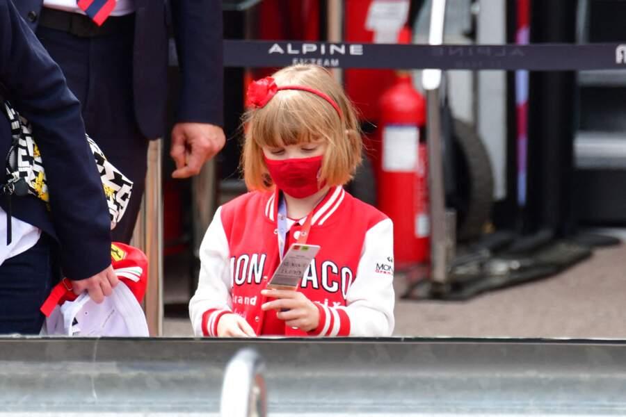 Une sortie en amont du 78eme Grand Prix de F1 de Monaco pour Gabriella.