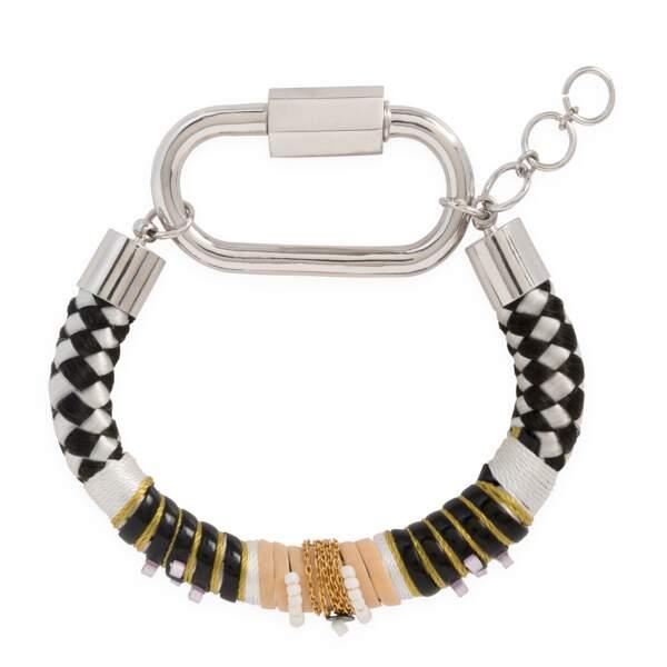 Bracelet germain black, 80€, Hipanema
