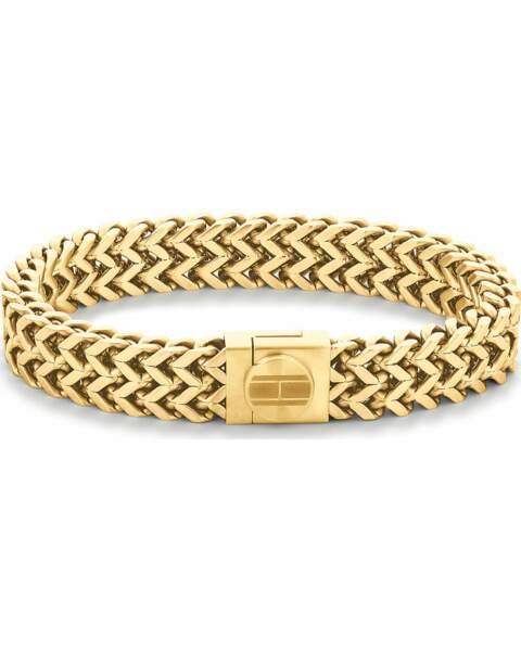 Bracelet en acier, 79€, Tommy Hilfiger sur Valmano