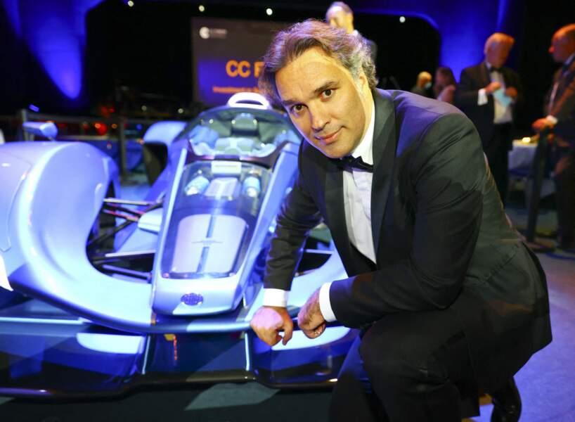 Laurent Tapie au CC Forum à Monaco, à Monaco, le 25 septembre 2020.
