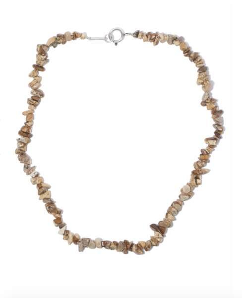 Collier à perles en pierre, 110€, Isabel Marant