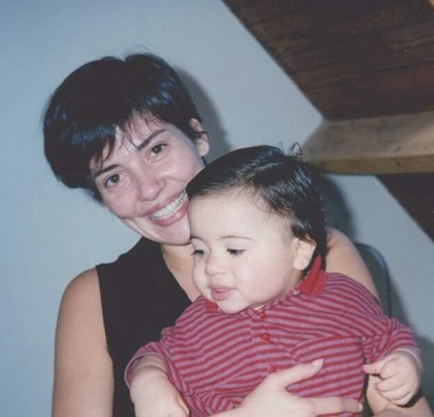Cristina Cordula a dévoilé une photo avec son fils, Enzo.