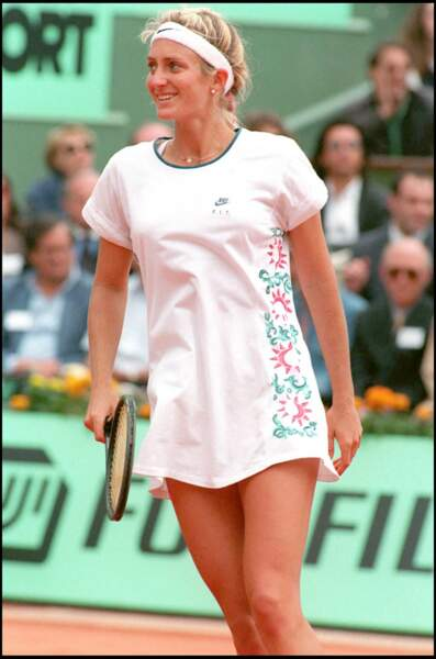 Mary Pierce à Roland Garros en 1994