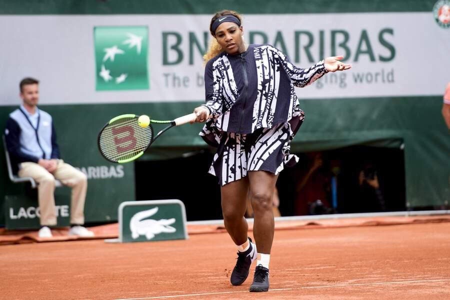 Serena Williams à Roland Garros en 2016