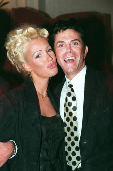 Ophélie Winter en 1995 avec  des cheveux blonds très Marilyn Monroe