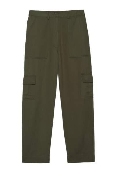 Pantalon cargo olive, 158€, Rails