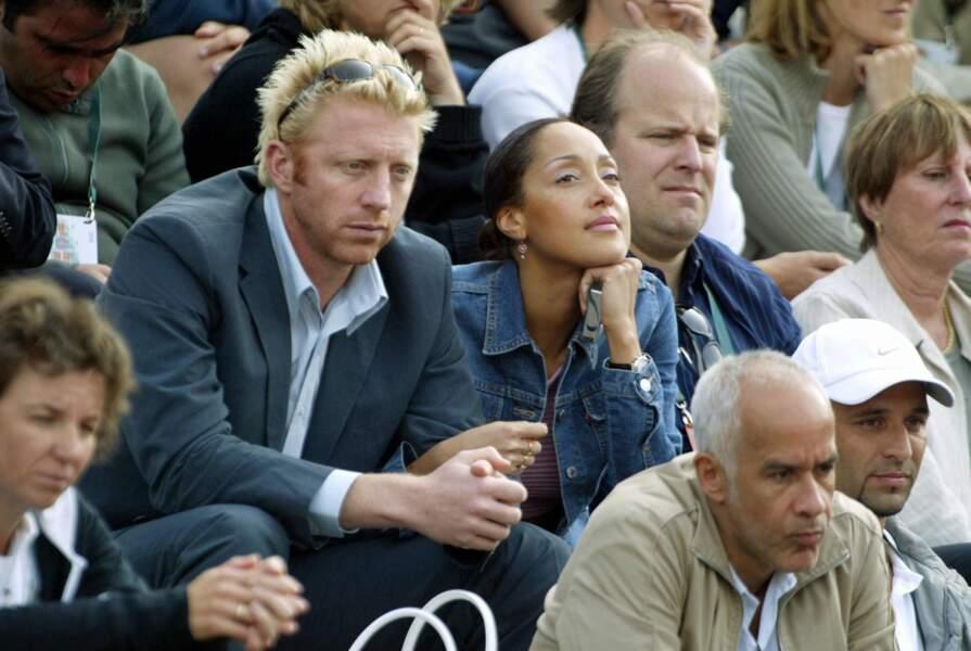Boris Becker et Carolyn Rocher en 2004