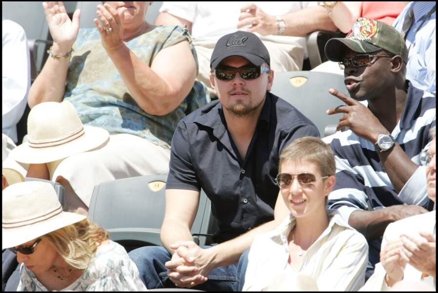 Leonardo DiCaprio en 2006 à Roland-Garros