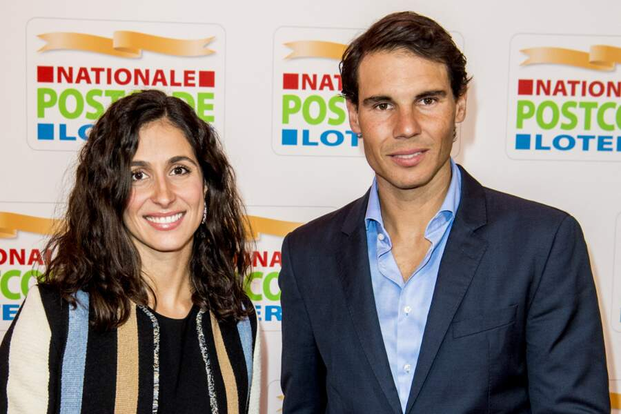 Rafael Nadal et Xisca Perello à Amsterdam le 15 février 2018