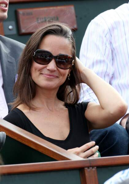 Pippa Middleton en 2011 à Roland-Garros