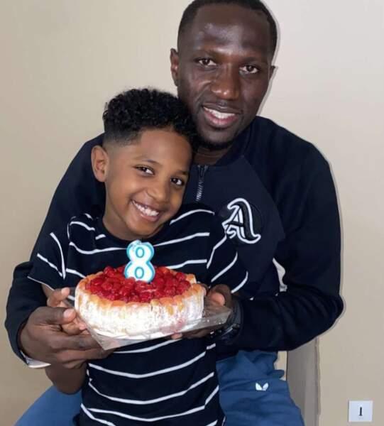 Moussa Sissoko et son fils Kais.