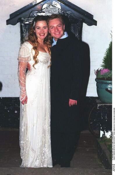 Kate Winslet en 1998 : elle se marie avec Jamie Threapleton