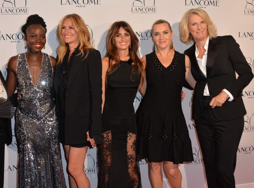 Kate Winslet  en 2015 : l'égérie Lancôme fête les 80 ans de la marque