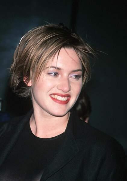 Kate Winslet  : Coupe courte et rock