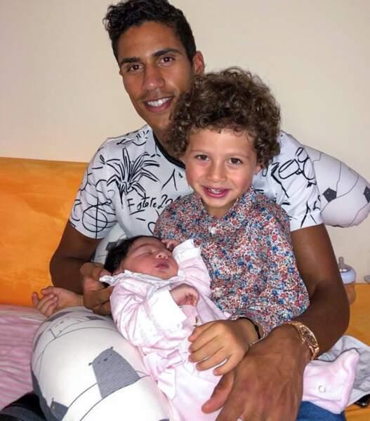 Naissance de la petite Anaïs, la fille de Raphaël Varane le 25 octobre 2020