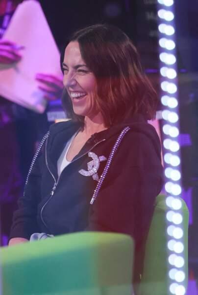 Melanie C est apparue souriante ce 2 juin 2021, dans l'émission The One Show, à Londres.