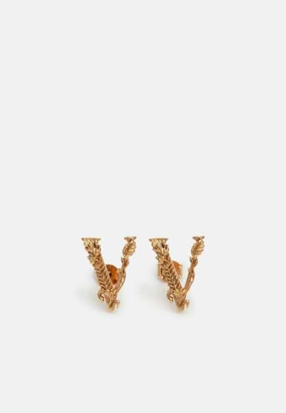 Boucles d'oreilles, 150€, Versace sur Zalando