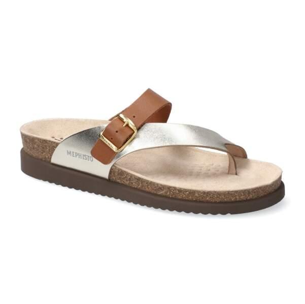 Sandales en cuir bi-colores Nalia, 85€, Mephisto