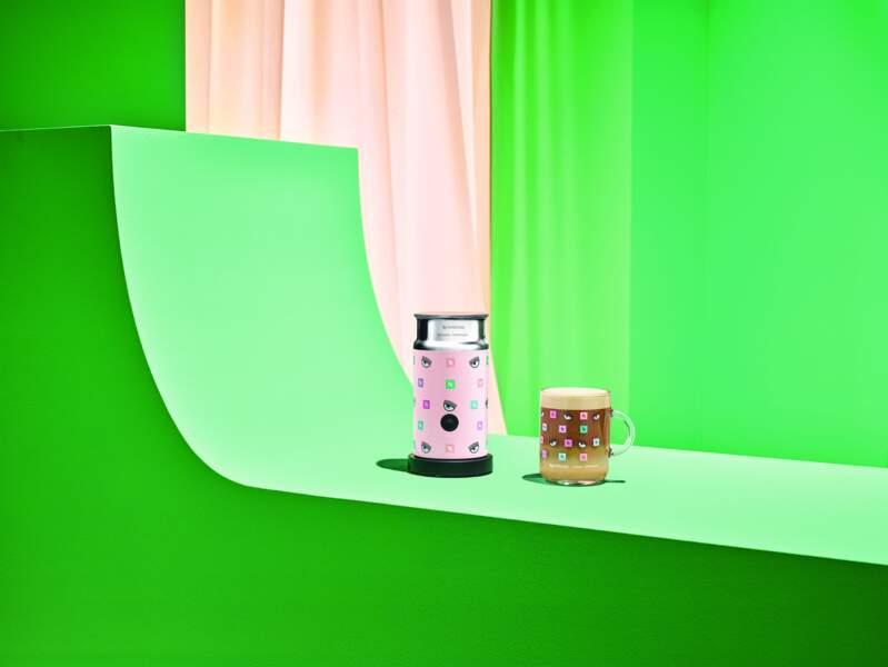 Parmi les modèles proposés et revisités, l'Aeroccino, qui permet de mousser son lait en fonction de son humeur et ses envies