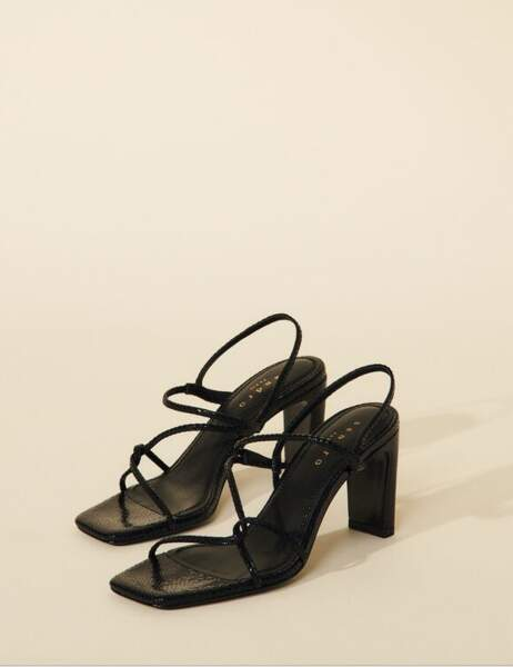 Sandales à fines brides, 195€, Sandro