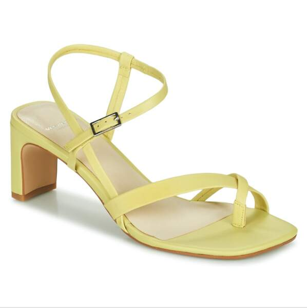 Sandales Luisa tannage végétal, 99,99€, Vagabond Shoemakers chez Spartoo