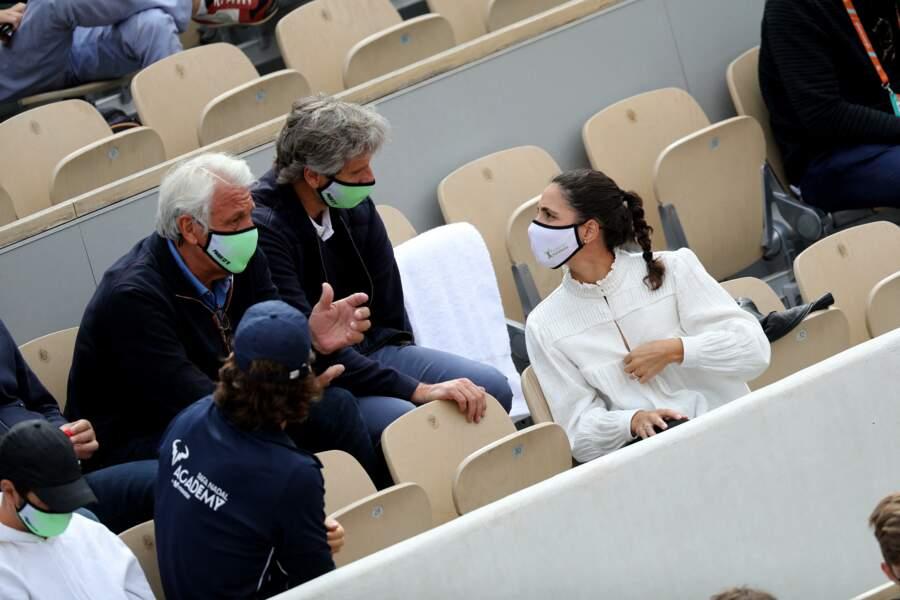 Xisca Perello débrief le match de tennis à Roland-Garros.