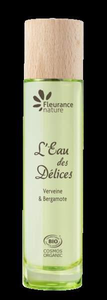 L 'eau des délices à la verveine, Fleurance Nature, 25 €