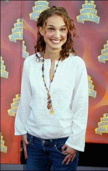 Natalie Portman en 2002 : un carré auburn et ondulé