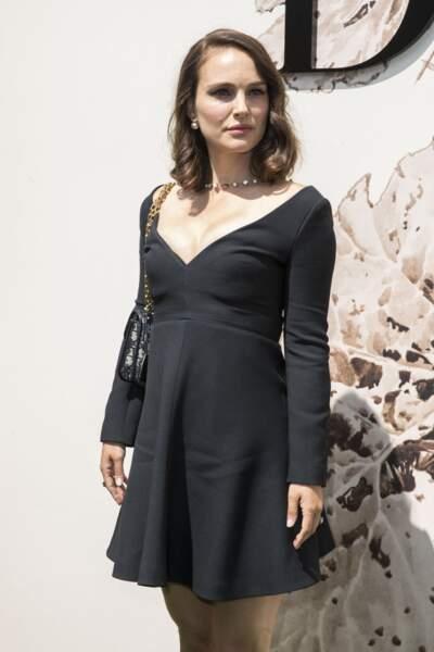 Natalie Portman en 2017 adopte le carré wavy