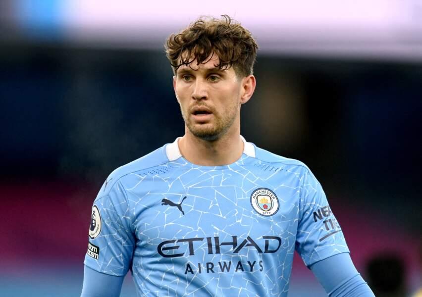 John Stones, en décembre 2020 avec Manchester City