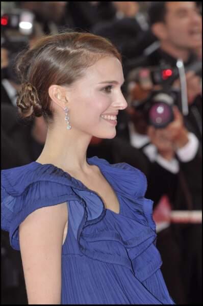 Natalie Portman en 2008 : un chignon de danseuse ultra sophistiqué