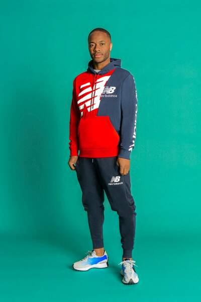 Raheem Sterling pose pour New Balance