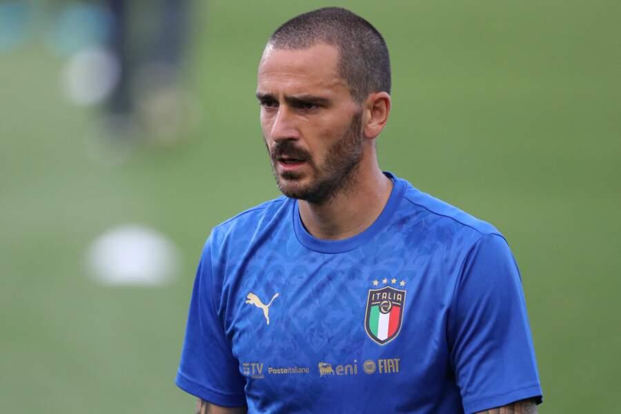 Leonardo Bonucci avec l'Italie, en juin 2021