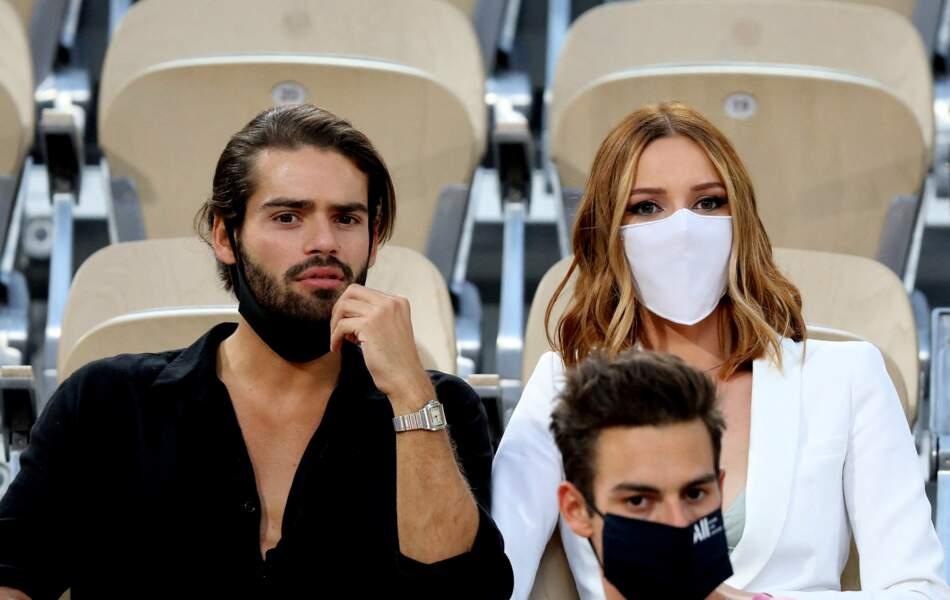 Renan Pacheco, Maëva Coucke sous le soleil pour les  Internationaux de France de Tennis de Roland Garros à Paris. Le 9 juin 2021