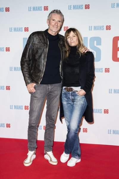 Denis Brogniart et sa femme Hortense, le 6 octobre 2019