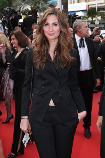 Marie Portolano à Cannes, en 2016