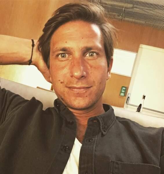 Xavier Domergue - selfie sur Instagram