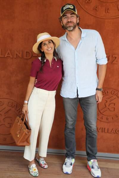 Reem Kherici et son mari Gilles Lemaire