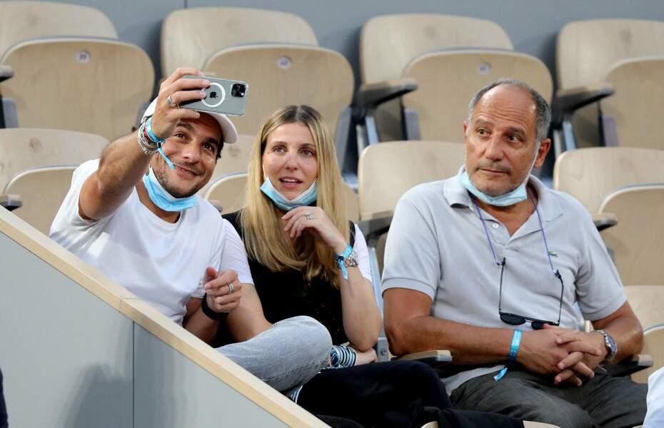 Amir Haddad, sa femme Lital et son père