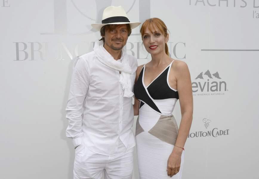 Daniel Bravo et sa femme Eva à Paris, le 29 juin 2014.