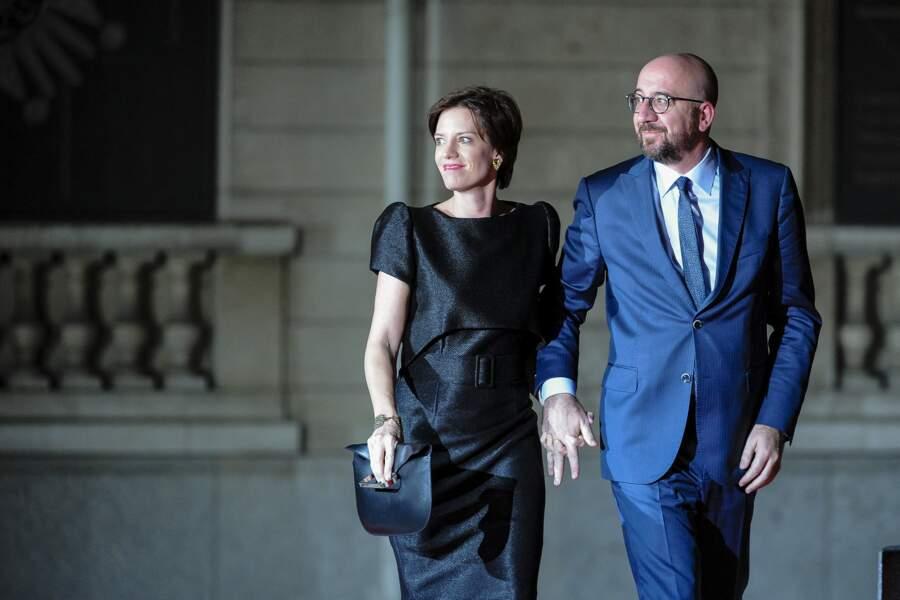 Le président du Conseil Européen Charles Michel et sa femme Amélie Derbaudrenghien seront également présent dans les Cornouailles