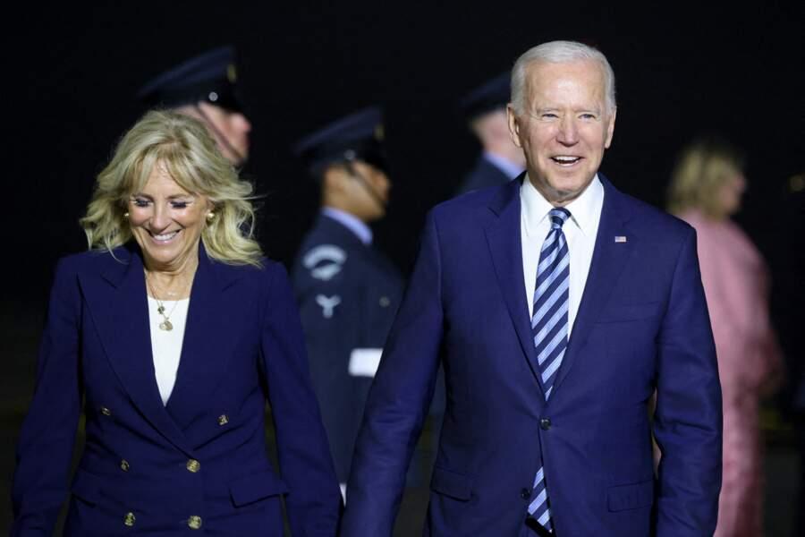 C'est le premier sommet du G7 pour Joe Biden, et sa femme Jill, tout juste arrivés à la Maison Blanche au début de l'année 2021