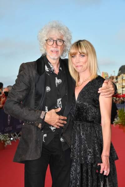 L'amour à Cabourg entre Louis Bertignac et Laetitia Brichet  pour le Festival du film.