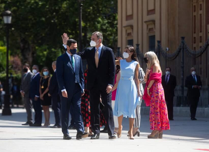 """Le roi Felipe Vi s'est dit être """"un Andalou parmi les Andalous"""""""