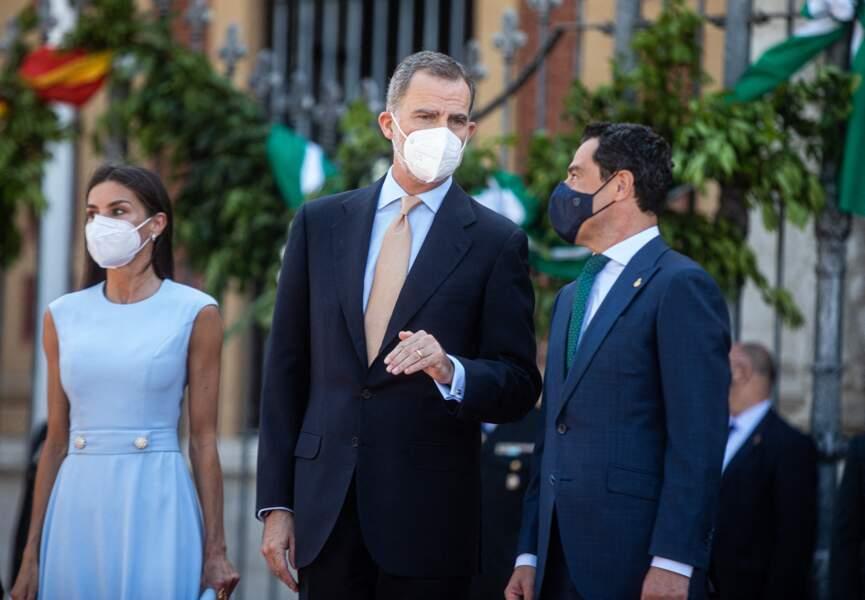 Le roi Felipe VI a déclaré se sentir comme chez lui en Andalousie