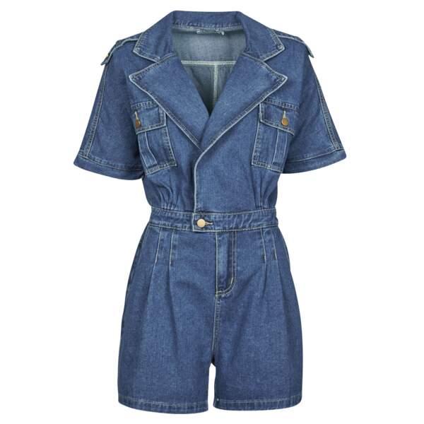 Combinaison en jean, 63,99€, Molly Bracken chez Spartoo