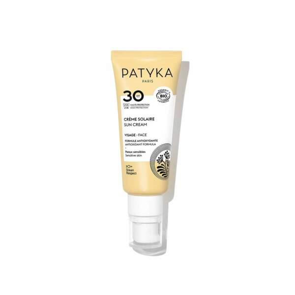 Crème Solaire SPF 30, Patika, 29,90 €